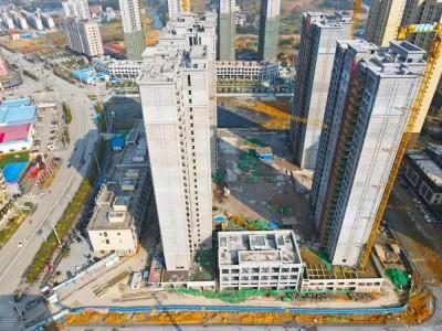 东城新世纪2021年2月工程进度播报:新年将至,美好咫尺!